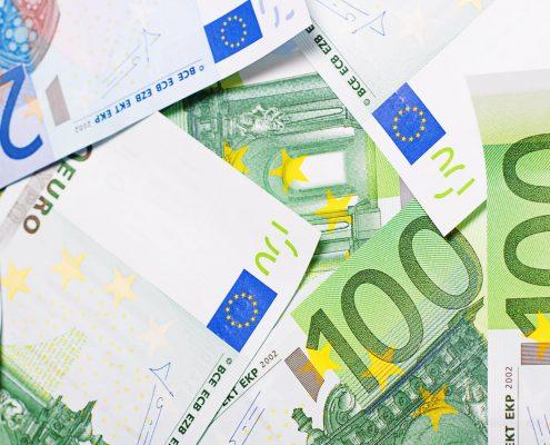 Billets en euro prix d'un assistant à distance