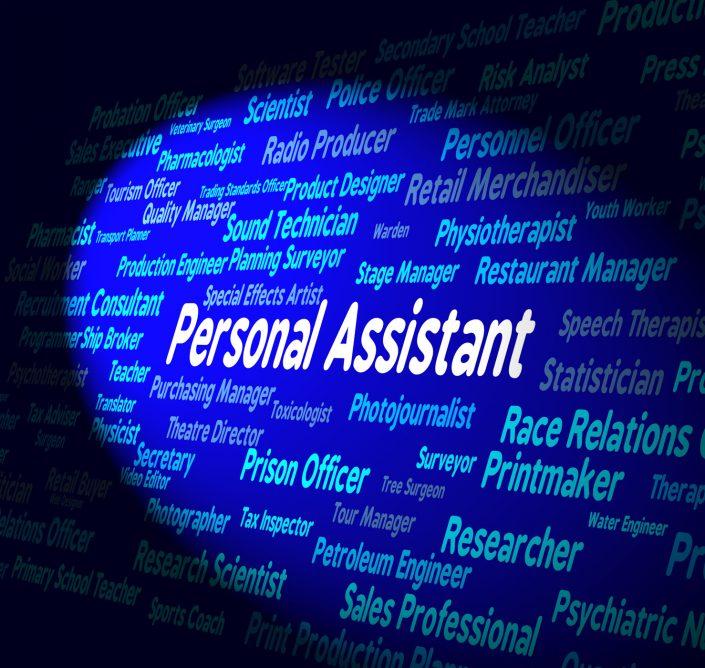 lumière sur le mot clef Personal Assistant